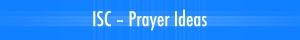 Prayer Ideas